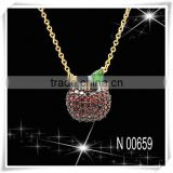 Two Tone Plated Hote Selling Necklace From China