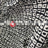 Rayon Viscose Fuli Crepe Diamond Digital Printed Fabric for Women's Dresses and Pajamas