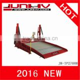 JUNHV JH-TP2700B launch car lift 2 post parking lift two post car lift hydraulic lift auto lift