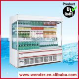 2M New Style commercial used soft drink display supermarket refrigerator