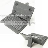 new arrival universal leather flip tablet case with keyboard low price cheap guangzhou