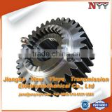 Large ring gear for cement mixer