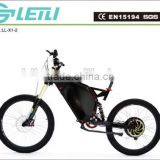 48V 1000W off road stealth bomber electric bike , beach cruiser electric bike