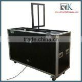 "2016 new product! flight case support custom-made RK Flight case with auto lcd tv lift for 42""-72"" lcd tv"