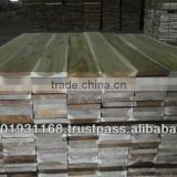 Vietnam Acacia sawn timber KD S4S for solid wood flooring