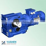 Professional Manufacturer of K77 Hard Tooth Surface Helical Bevel Reductor Motor for Wood Chipper and Agitator in China