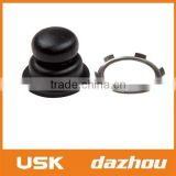 Black primer bulb with clamp for lawn mower