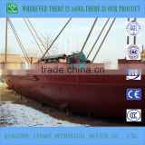 80cbm small self-propelled sand barge prices for sale