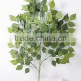 CHY070902 plastic decoratve artificial apple tree branches and leaves/apple hanging tree leaves