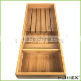 In-Drawer Bamboo Knife Tray for Kitchen & Cabinet Homex BSCI/Factory