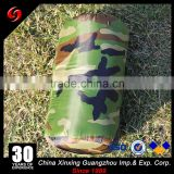 Wholesale waterproof 600D polyester PVC coating military inflatable sleeping bags for cold weather