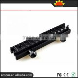 Aluminum Alloy Tacitcal Flashlight Scope Mount 21mm Guide Rail Weaver