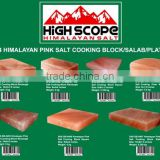 HIMALAYAN PINK SALT COOKING BLOCKS GROUP PICTURE