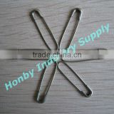 Good service of stainless steel U shaped safety pin in silver