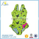 Hot Sale Wholesale Yellow Baby Girl Mermaid Romper Jumpsuit Kid Mermaid Swimming Costume