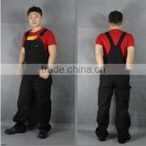 Bib overalls / pants male workers Siamese clothing / uniforms automotive tooling work clothes denim strap