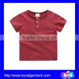 Custom design embroiderd t shirt for kids, softy bamboo cotton fabric tee shirt
