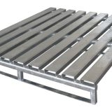 Logistics Stainless Steel Pallet For Warehouse , Metal Steel Pallet