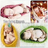 Knitted Newborn Baby Swaddle Wrap Blanket Crochet Pattern For Photography M7042905