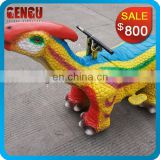 Custom Mechanical Dinosaur Ride For Kids