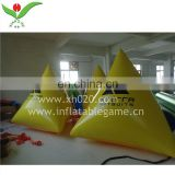 Race floating triangle floater inflatable marker buoy