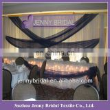 BCK056 2013 wedding chiffon and organza luxurious wedding backdrop fabric