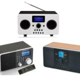 Wooden Internet FM/DAB+ Radio with Good quality and built-in speaker