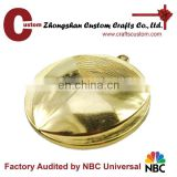 Promotional new products expert factory custom 3D design blank gold finish medal
