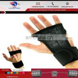 New Hand Grips Gym Glove Wrist Wraps Best Hand Protection for CrossFit Weight Lifting Pull Ups