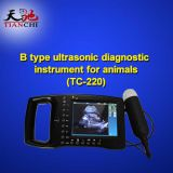 TIANCHI Veterinary Portable Ultrasound Monitor Light Weight Dog Ultrasound TC-220 Manufacturer In Panama