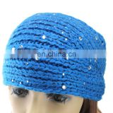 head warmer decorated by diamond