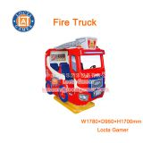 Zhongshan amusement kiddie rides Rocking Machine car coin operated Fire Truck