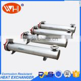 COOLING SYSTEM 23.2KW Stainless Steel 316L Shell And Tube Chiller Heat Exchanger (WHB-10DKG)