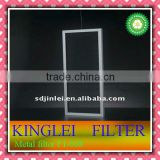 Metal frame fiber filter air conditioning