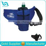 Custom Fanny Pack Lightweight 210D Polyester Waist Fanny Packs With Water Bottle Holder