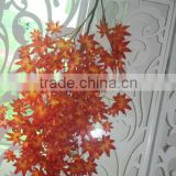 professional manufacturer / Artificial red maple big branch with reasonable price /Decoration tree for indoor and outdoor