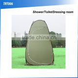(120522)Pop up portable camping toilet tent shower tent