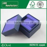 Refined Purple Velvet Watch Box Wholesale