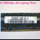 Highest quality 4gb ddr2 667/800mzh ram For laptop