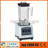 Fruit blender machine motor 1500W industrial fruit blender jug capc.2000CC fruit juicer blender for CE (SY-BL15F SUNRRY)
