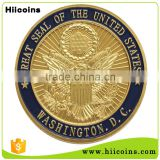 custom metal coin factory direct salling gold eagle replica coins