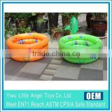 EN71 6P PVC Inflatable Bathtub Mini Swimming Pools with Inflatable Bottom for little kids
