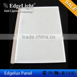 Edgelight acrylic engraved china plates thickness size shape light color can be customzied