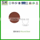 Green Stone Coated Zn-Al Steel Round Roof Seal Cap Cover