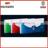 Colorful pp expanding file folder with elastic bands