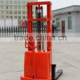 warehouse equipment lift truck 2ton semi- electric powered stacker for pallet