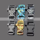 wholesale hot new 3/8 Side quick Release Camo Plastic Flat Whistle Buckle for paracord bracelet