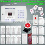 H99 Voice Prompt Auto-Dial Wireless Defense Zones PSTN Home Security Water Leak Alarm System