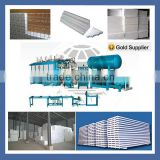 hot sale insulation eps foam block machine
