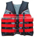 2013 hot sale custom neoprene/nylon/lycra+EPE foam safty life jacket/vest                                                                         Quality Choice